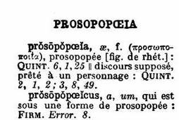 prosoposee